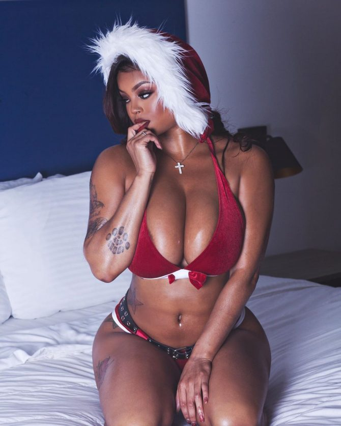 Lavish Styles @thereallavishs: Christmas in Bed – Inkd Shooter