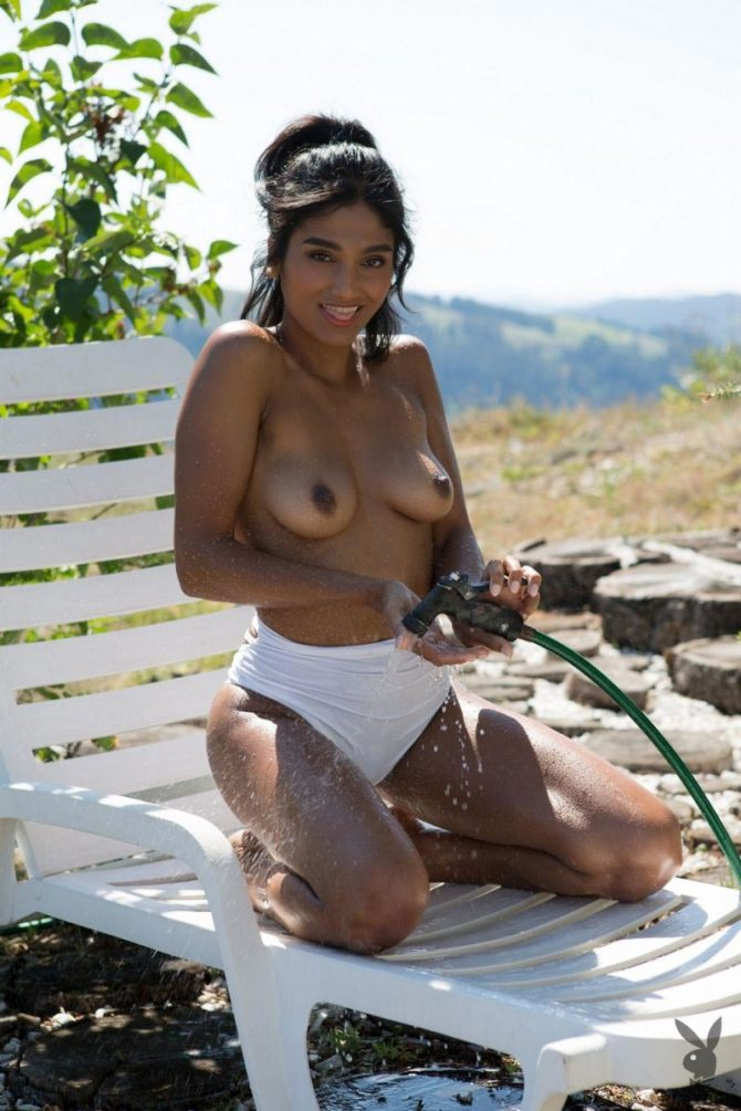 Angel Constance in Mountain High – Playboy
