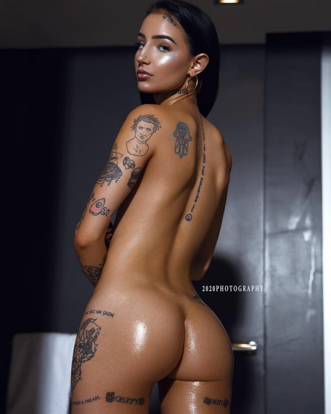 Raven @lavishsuicide: Tatted From Head to Toe – 2020 Photography