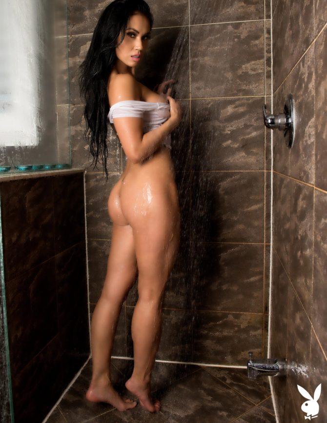 Kim Lu in Playboy Croatia