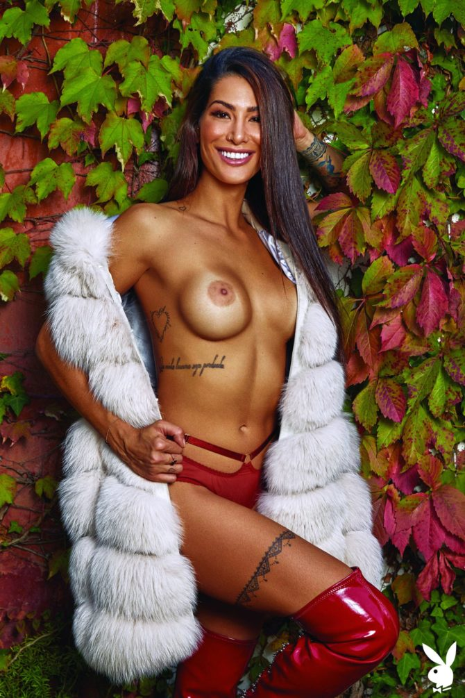 Poliana De Paula in Playboy Portugal
