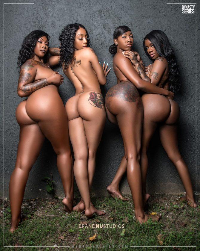 Noelle @undefinedtypeoffine x Lola @mslola_bunnie x @freakymek_ x @renitatted: Brown N Round – Brand Nu Studios