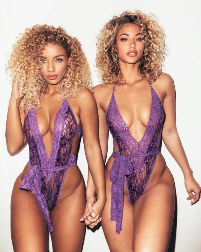 Jean Frumes @jenafrumes & Lolo Wood @lolowood_: Twins – Martin Depict