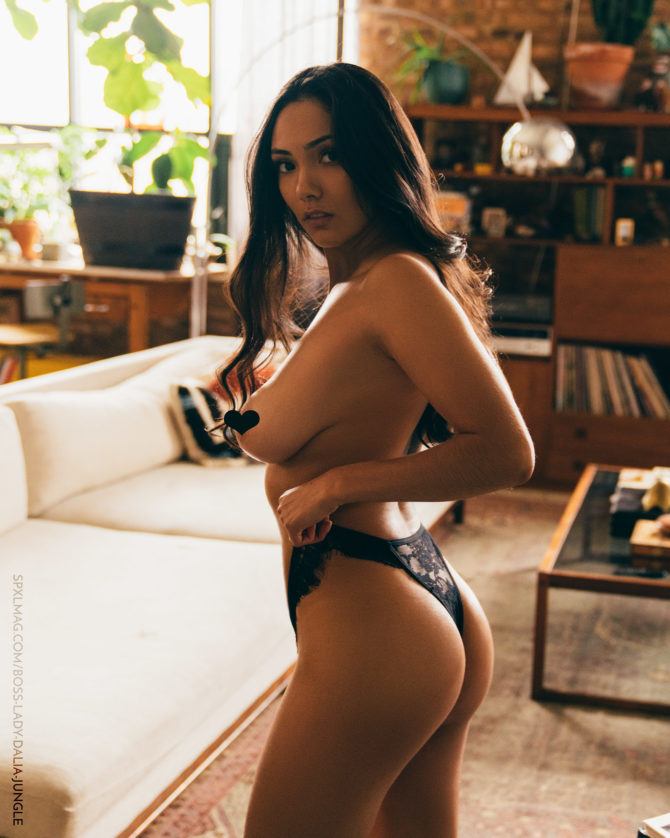 Dalia @bossladydalia: It's a Jungle Out There – SPXL Mag x Biohertz Photography