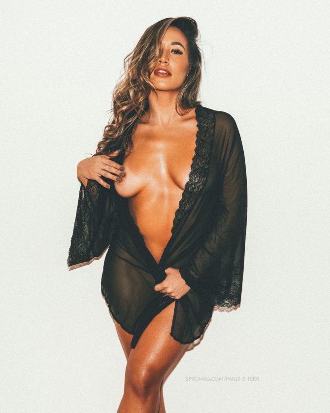Paige Elysee @paige.elysee: Sheer – SPXL Mag x Biohertz Photography