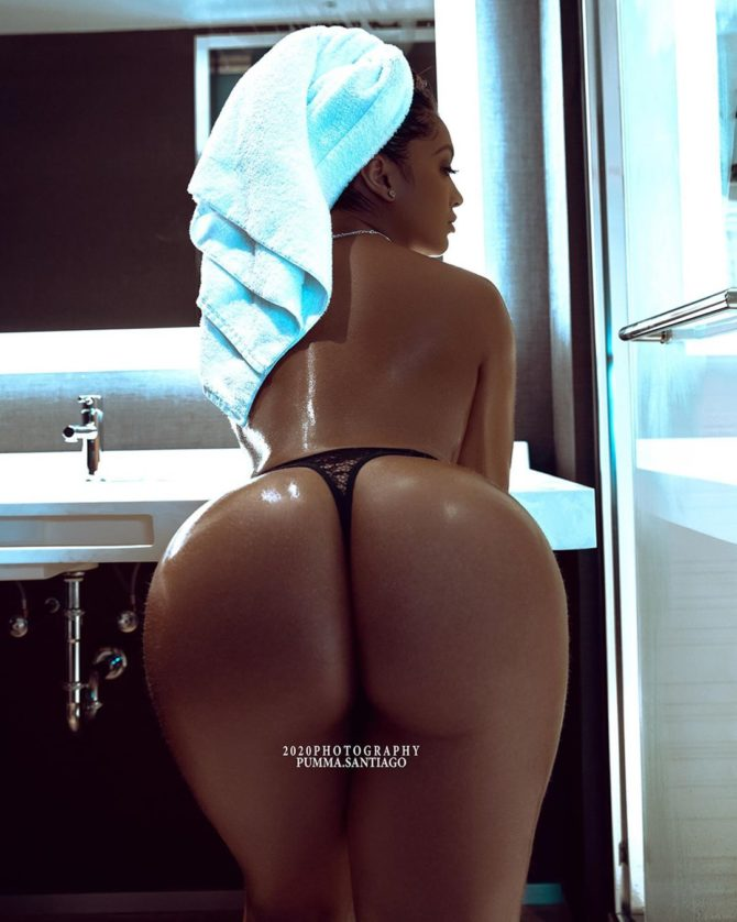 Pumma Santiago @pumma.santiago: Fresh Out the Shower – 2020 Photography