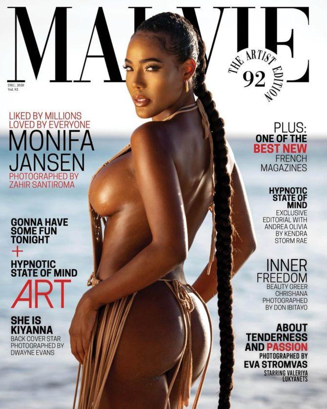 Monifa Jansen @monifajansen – Malvie Magazine x Zahir Santiroma