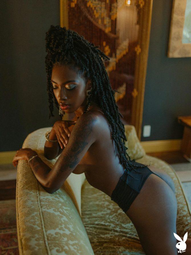Sarissle in Little Luxuries x Playboy
